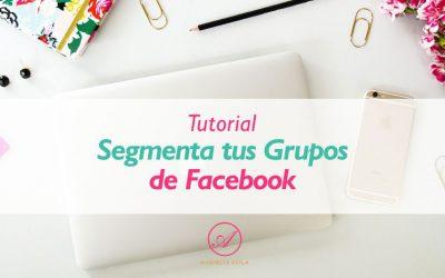 Tutorial Segmenta tus Grupos en Facebook