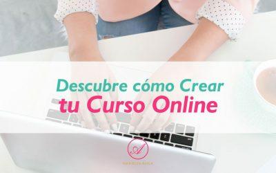 Descubre cómo crear tu curso on line