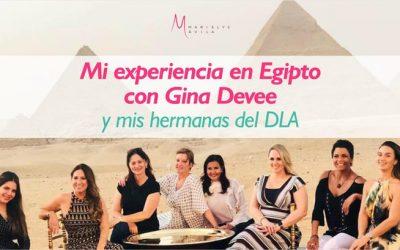 Mi experiencia en Egipto con Gina Devee