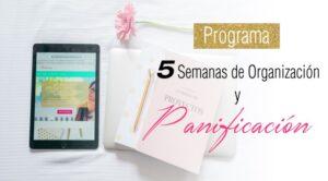 Programa 4 semanas de organización y planificación - Marielys Avila, formación de alto nivel para emprendedoras