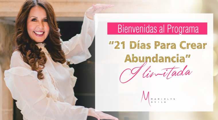 21 días para crear abundancia ilimitada - Formación para emprender con éxito