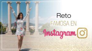 Portada del Reto Famosa en Instagram - Formación para Emprendedoras