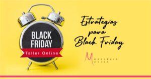 Estrategias Black Friday - Formación alto nivel para emprendedoras