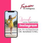 Famosa en instagram
